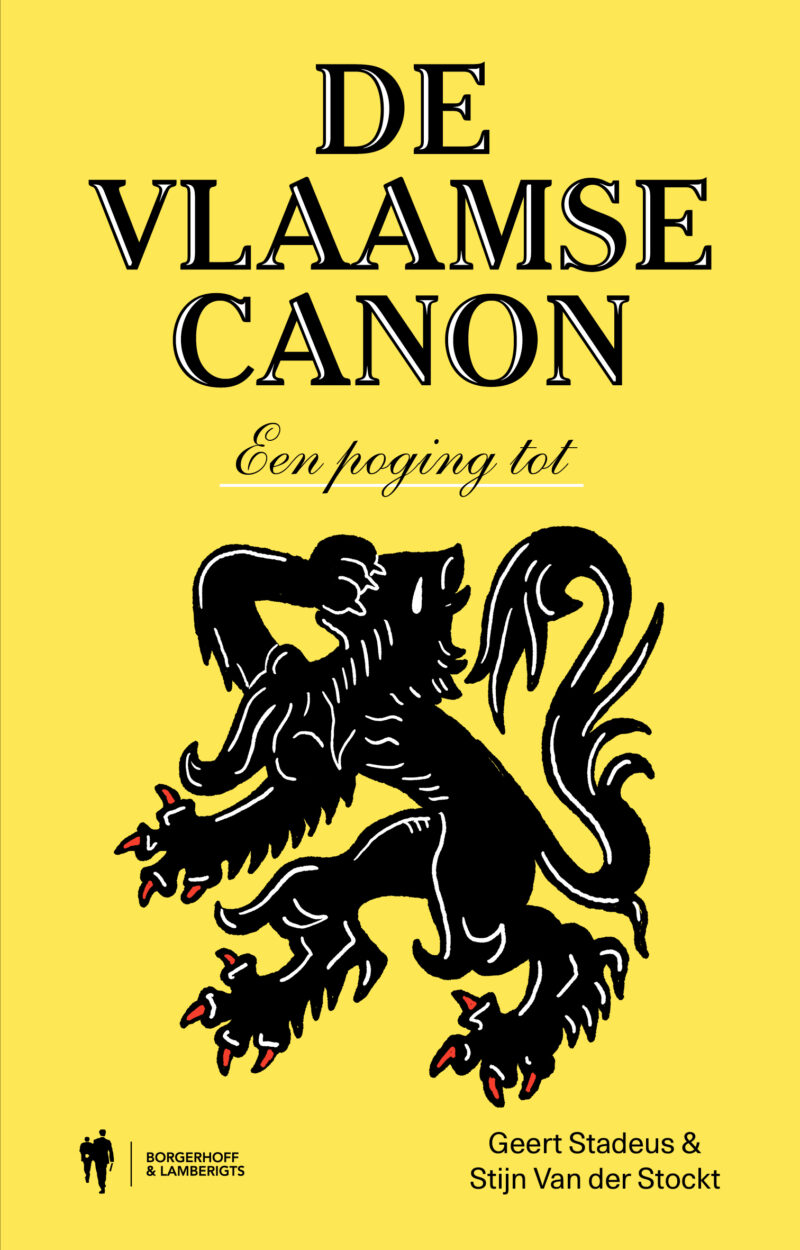 Bl Vlaamse Canon Cover