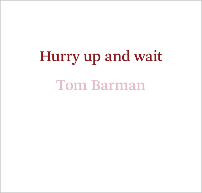 Tom Barman Cover Hr Front 1500 Px Copy